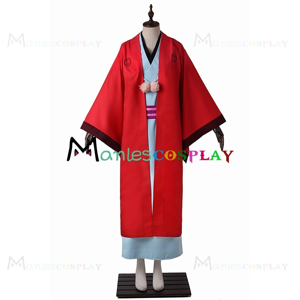 Abeno Haruitsuki Costume For The Morose Mononokean Cosplay 10