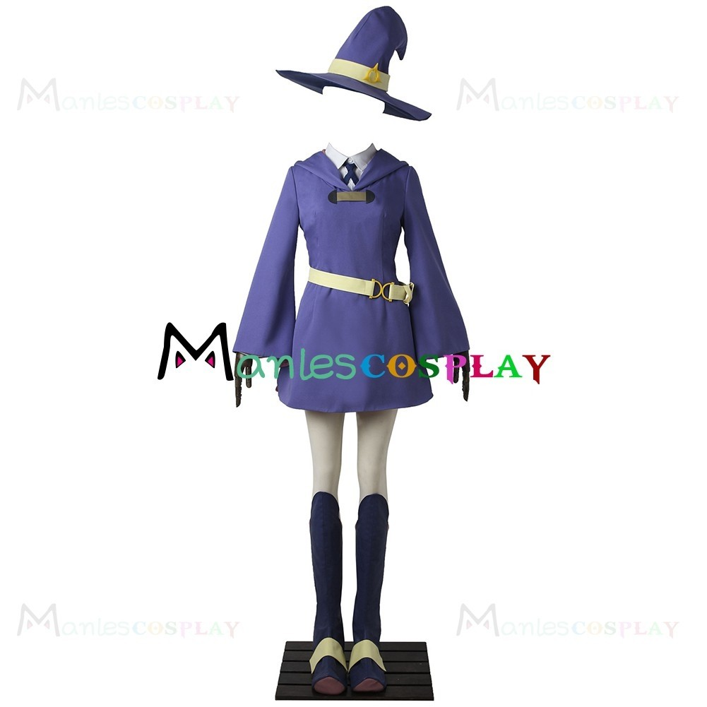 Amanda O Neill Costume For Little Witch Academia Cosplay