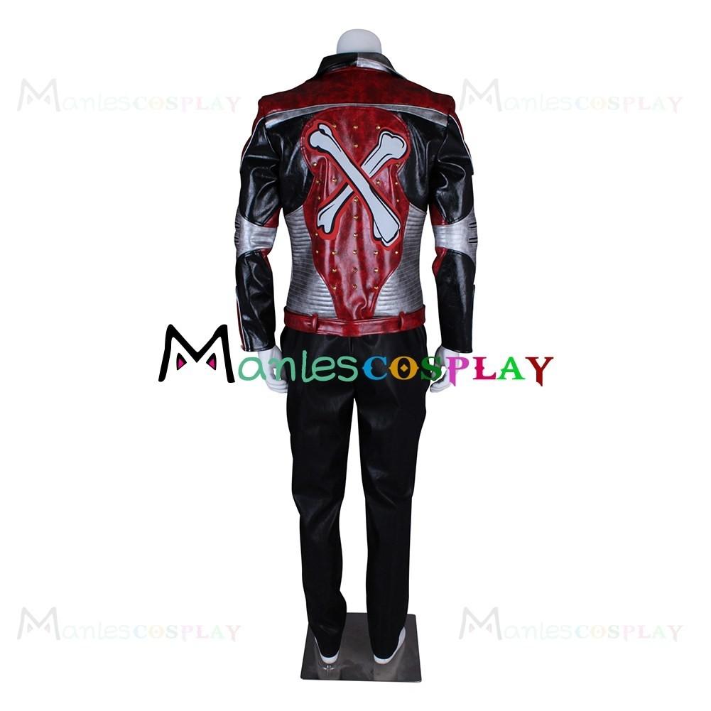 Carlos Son of Cruella De Vil Costume For The Descendants 2 Cosplay