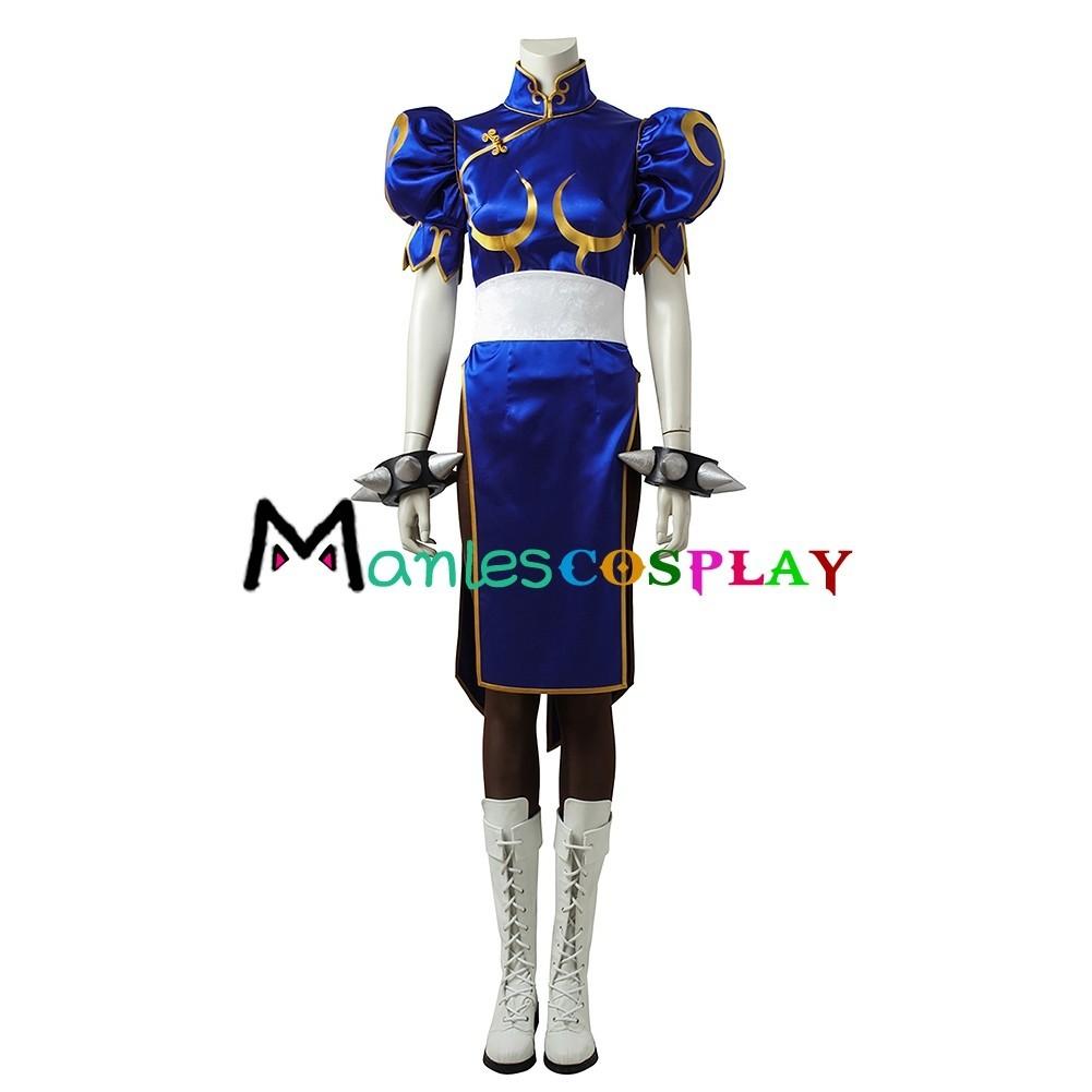 Chun Li Costume For Street Fighter Chun Li Cosplay
