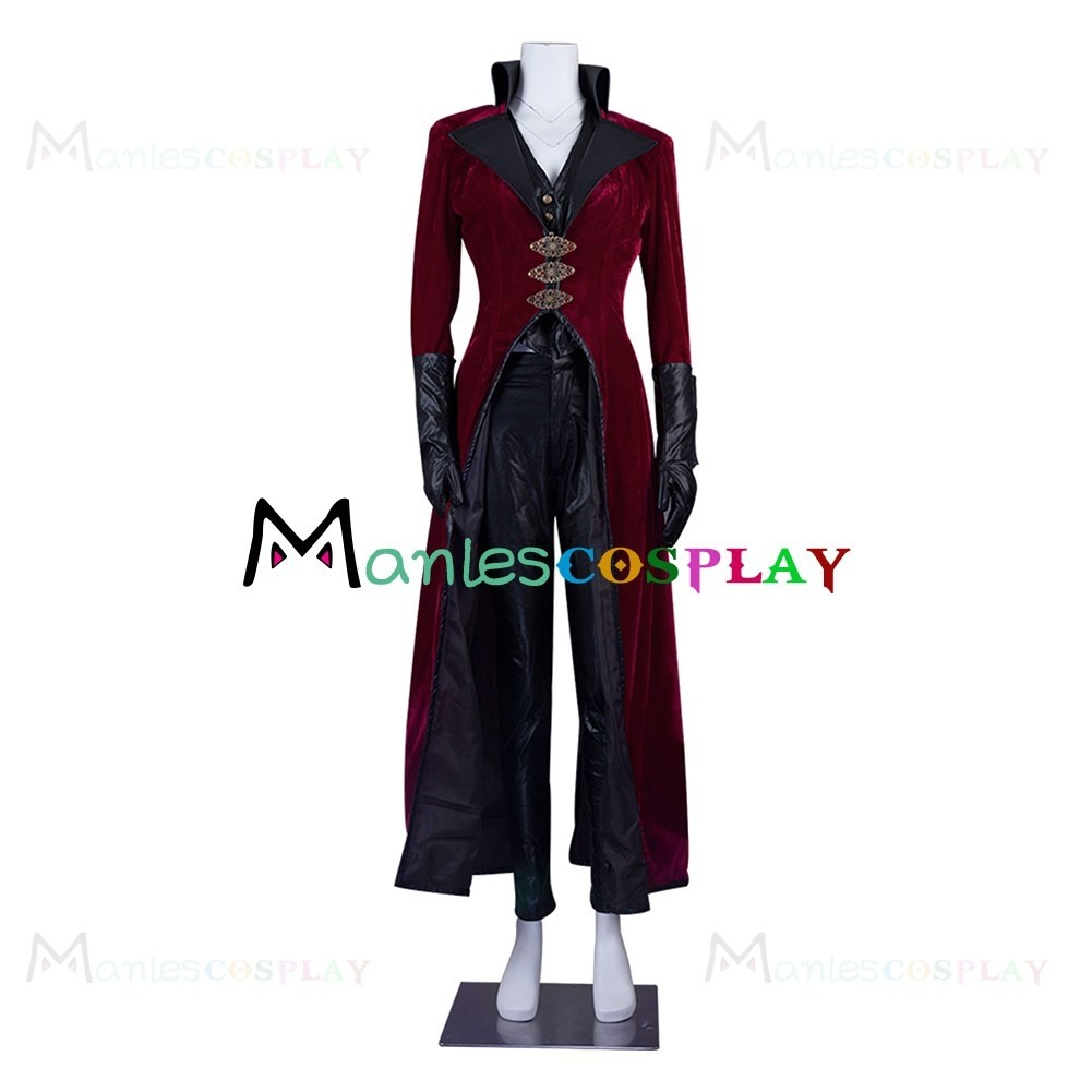 Once Upon A Time Costumes: Evil Queen Regina Mills Red Costume For Once Upon A Time