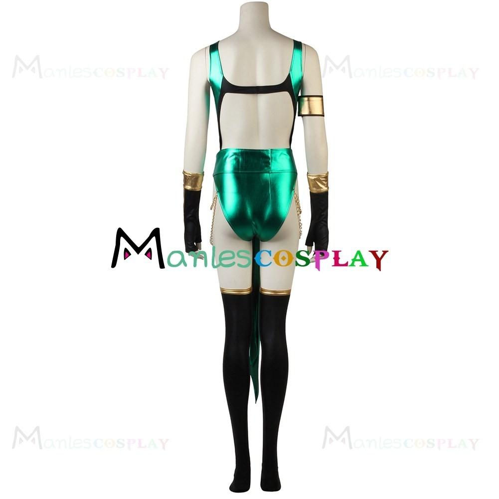 Jade Costume For Mortal Kombat Cosplay