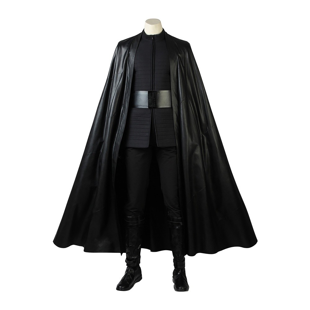 Kylo Ren Ben Solo Costume For Star Wars The Last Jedi Cosplay