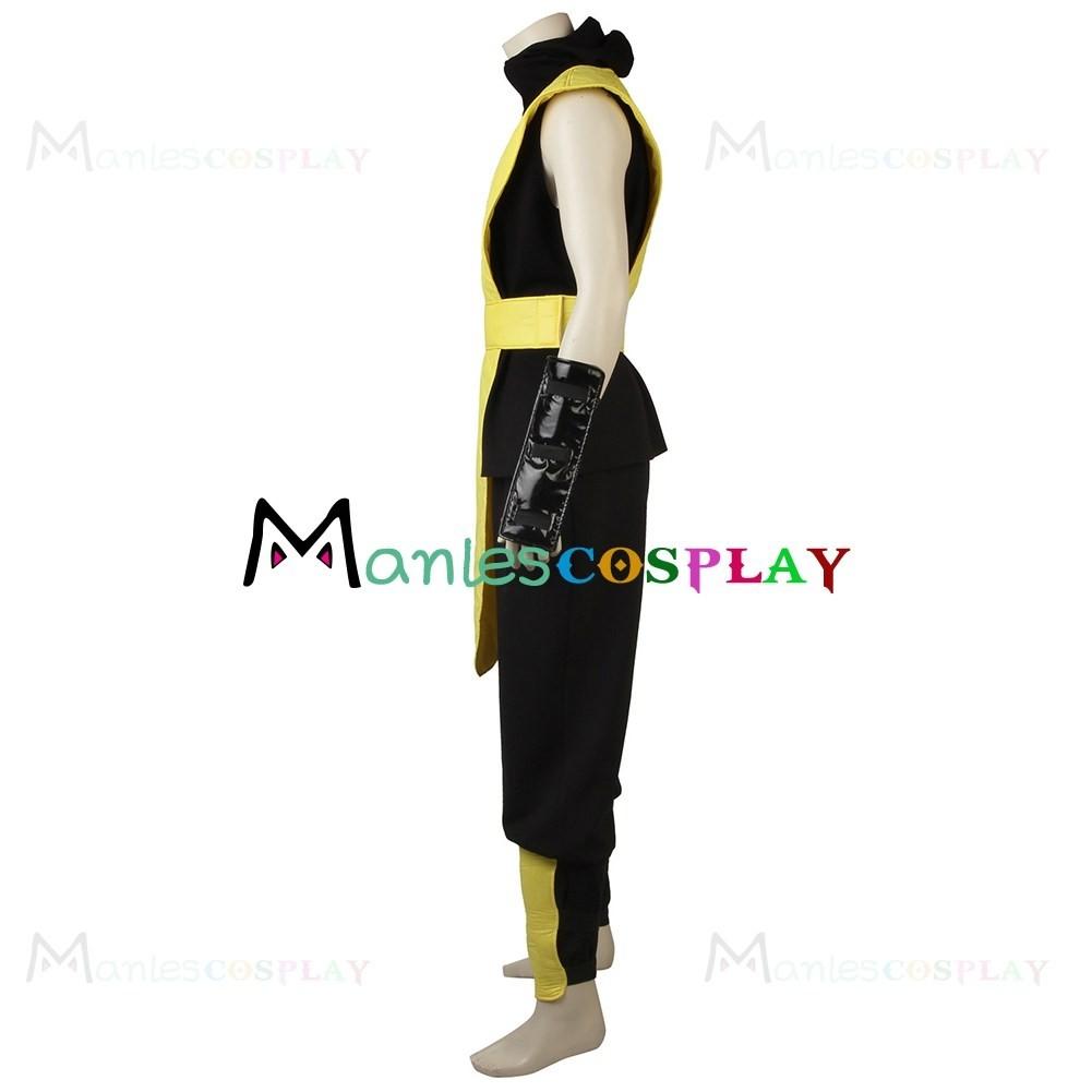 scorpion costume for mortal kombat cosplay