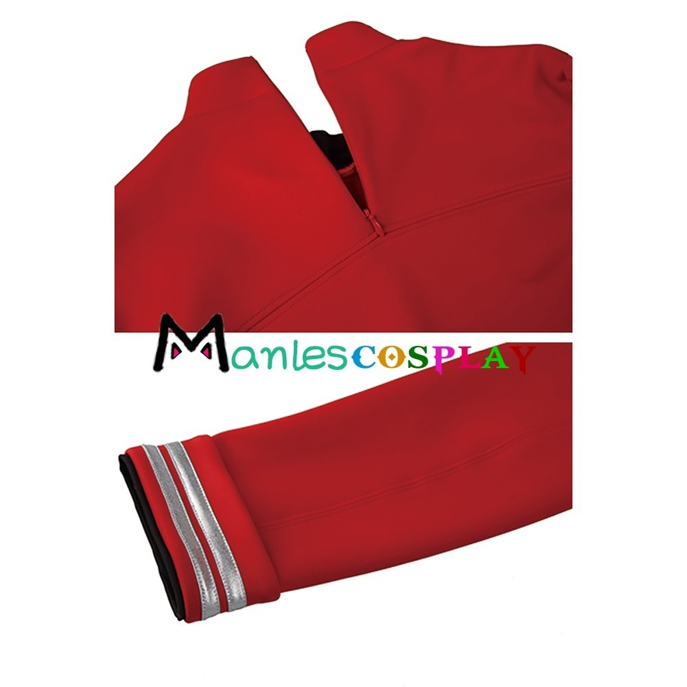 sc 1 st  Manles Cosplay & Scotty Costume Red Uniform For Star Trek Beyond Cosplay