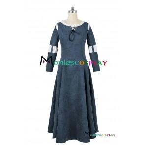 Brave Princess Merida Cosplay Costume