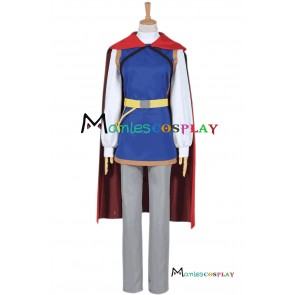 Snow White Prince Cosplay Costume