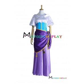 Gypsy Female Esmeralda Cosplay Costume