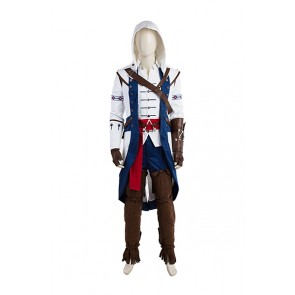 Assassin's Creed III Liberation Connor Cosplay Costume