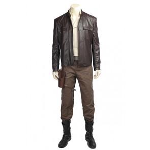 The Last Jedi Poe Dameron Costume Cosplay Star Wars