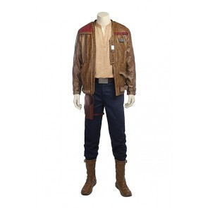 Star Wars 8 The Last Jedi Finn Cosplay Costume