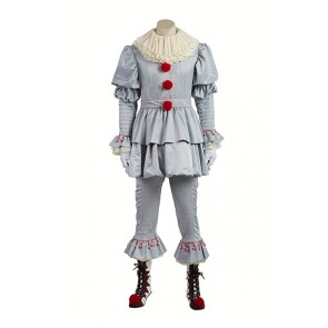 Stephen King's It Pennywise Joker Cosplay Costume