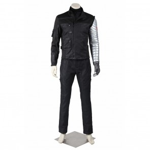 Winter Soldier Costume For Captain America Civil War Cosplay