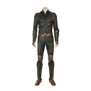 DC Justice League Aquaman Cosplay Costume