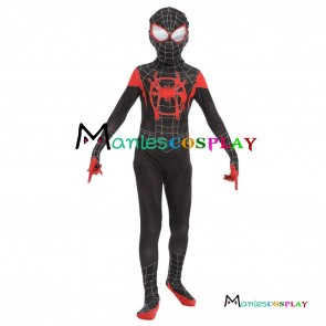 Cosplay Costume From Spider-Man Into the Spider-Verse Miles Morales
