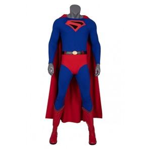 Super Hero Superman Kal-El Clark Kent Cosplay Costume