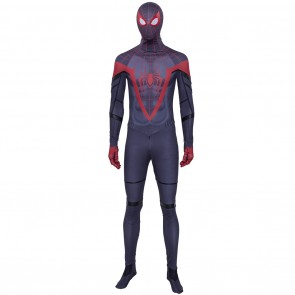 Cosplay Miles Morales Costume From Spider-Man