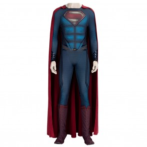 Cosplay Superman Costume From Man of Steel 2