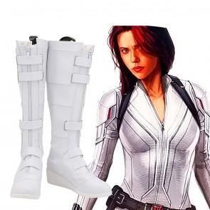 Natasha Romanoff Cosplay Boots From Black Widow