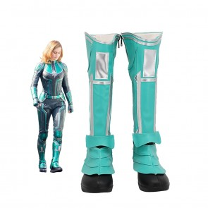 Captain Marvel Carol Danvers Cosplay Boots From The Avengers