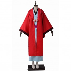 Abeno Haruitsuki Costume For The Morose Mononokean Cosplay