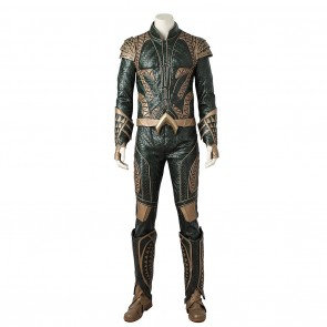 Aquaman Arthur Curry Costume For Justice League Cosplay