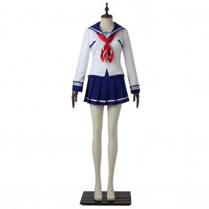 Asuha Kusunoki Uniform For Battle Girl High School Cosplay