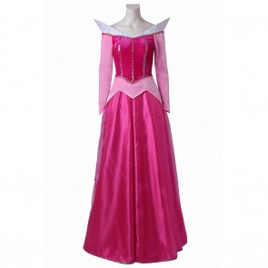 Aurora Princess Costume For Disney Prince and Princess Cosplay
