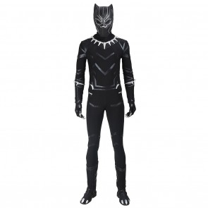 Black Panther Costume For Captain America Civil War Cosplay