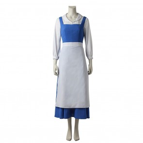 Belle Maid Dress Costume For Beauty and the Beast Cosplay