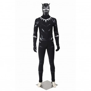 T'Challa Black Panther Costume For Captain America Civil War Cosplay