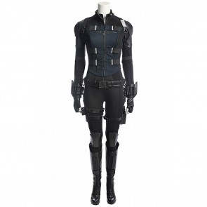 Black Widow Natasha Romanoff Costume For Avengers Infinity War Cosplay