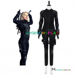 Avengers 3 :Infinity War Black Widow Natasha Romanoff Cosplay Costume