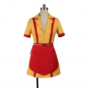 Caroline Costume For 2 Broke Girls Cosplay