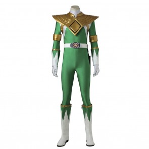 Dragon Ranger Green Power Ranger Costume For Power Rangers Cosplay