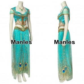 Aladdin Princess Jasmine Cosplay Costume