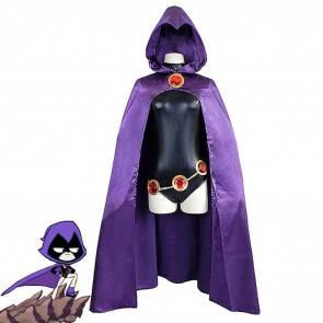 Justice League Raven Cosplay Costume
