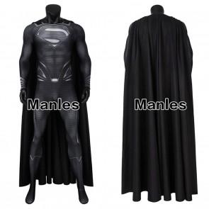 Justice League Superman Clark Kent Cosplay Costume