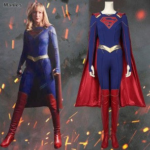 Supergirl Kara Zor-El Danvers Cosplay Costume