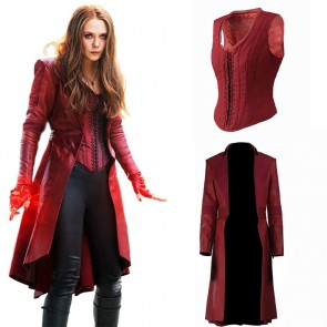 Avengers Infinity War Scarlet Witch Cosplay Costume