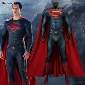 Superman Clark Kent Cosplay Costume