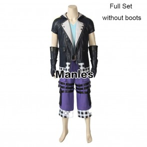 Kingdom Hearts 3 Riku Cosplay Costume