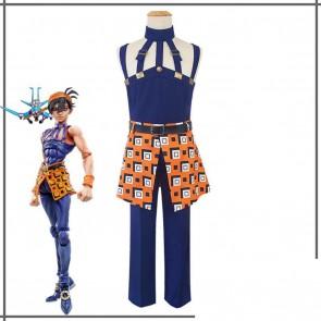 JoJo's Bizarre Adventure Ghirga Narancia Cosplay Costume