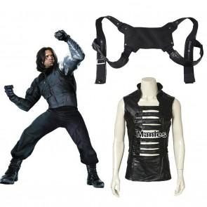 Captain America 2 Winter Soldier Cosplay Costume