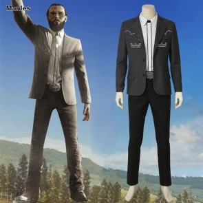 Farcry 5 Game Inside Eden's Gate The Father Joseph Seed Cosplay Costume