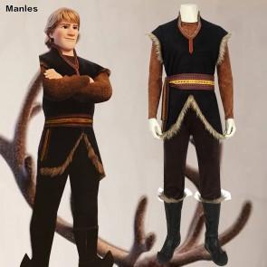 Frozen Kristoff Bjorgman Cosplay Costume