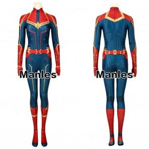 Captain Marvel Ms Marvel Carol Danvers Cosplay Costume