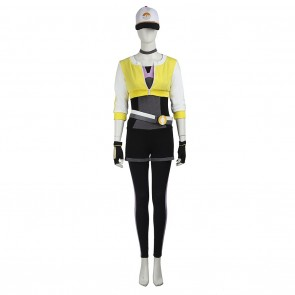 Female Monster Trainer Yellow Costume For Pokemon GO Cosplay