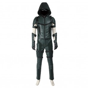 Green Arrow Oliver Queen Costume For Green Arrow 4 Cosplay