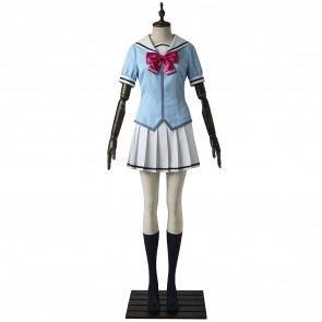 Hanasakigawa Girls High School Summer Uniform For BanG Dream Cosplay